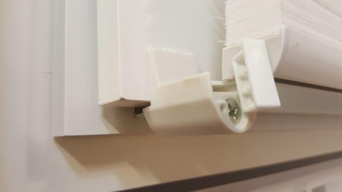 Plissee ohne Bohren Montage Klemmträger Klemmfix anbringen